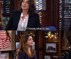 how i met your mother, lily, and robin image
