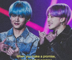 aesthetic, jin, and promise image