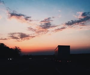 life, nature, and sunset image