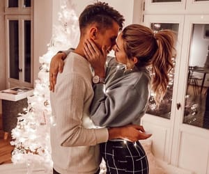 christmas, couple, and goals image