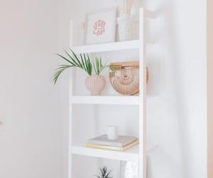 boho, bookcase, and interior image