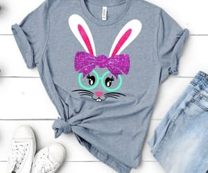 etsy, silhouette design, and easter tshirt image