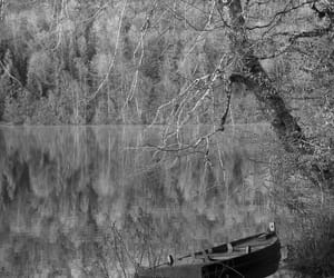 b&w, boat, and black and white image