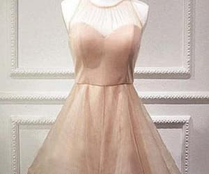 short prom dresses, pink prom dresses, and a-line prom dresses image