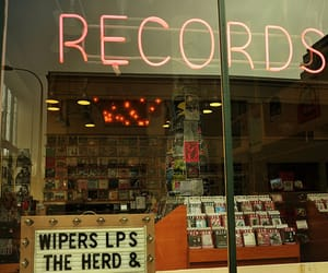 music, records, and vintage image