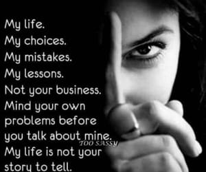 black and white, my life, and choices image