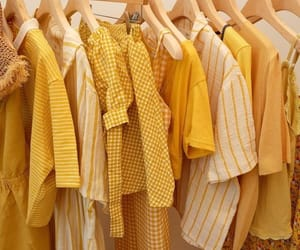 yellow, fashion, and style image