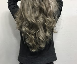 cool, hair, and silver image