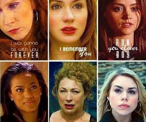 doctor who, companions, and whovian image