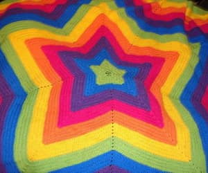 crochet, star, and knit image