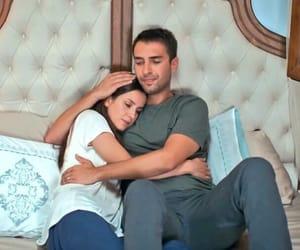 couple, hug, and sevgilim image