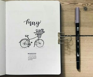 bicycle, black, and year image
