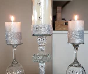 candle holder, wedding, and centerpiece image