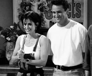 chandler bing, monica geller, and Courteney Cox image
