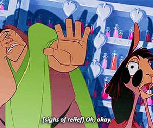 disney, the emperor's new groove, and gif image