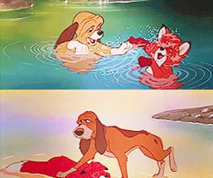 disney, gif, and the fox and the hound image