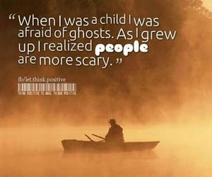 people, scary, and child image