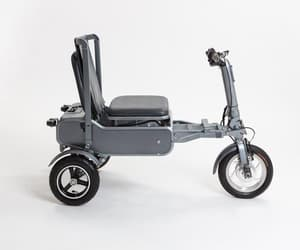 folding scooter and battery scooter image
