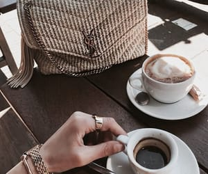 coffee, bag, and style image