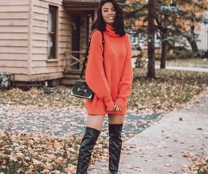 autumn, clothes, and fall image