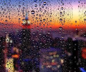 city, explorer, and rain image