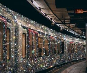 glitter and train image