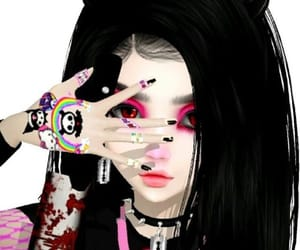 aesthetic, anime, and emo image