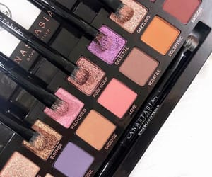 beauty, colorful, and cosmetics image