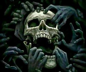 nightmare and skull image