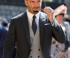 David Beckham and fashion image