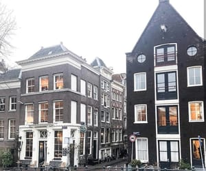 amsterdam, bicycles, and netherlands image