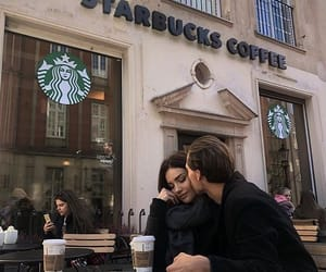 coffee, goals, and couple image