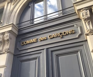 comme des garcons and store image