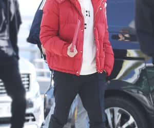 exo, kpop, and airport fashion image