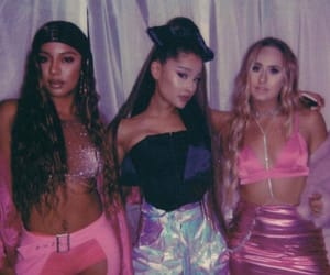 ariana grande, 7 rings, and victoria monet image