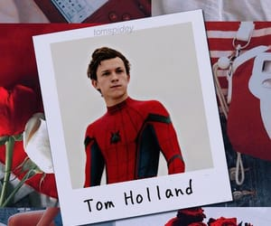 spiderman, holland, and Marvel image