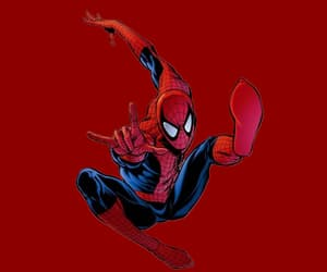 Marvel, red, and spider man image