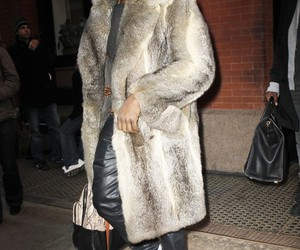 fur, leather, and kanye west image