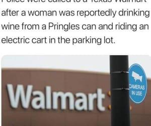 funny, walmart, and relatable image
