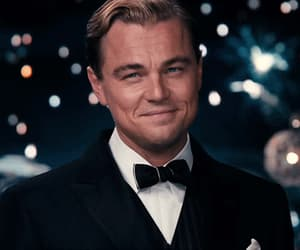 gif, leonardo dicaprio, and suit and tie image