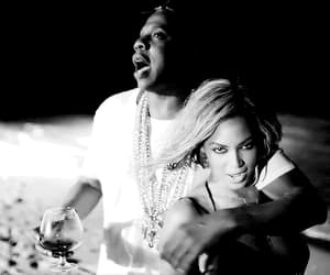 black & white, jay z, and love image