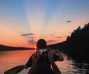 alternative, sunset, and vintage image