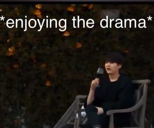 drama, funny, and meme image