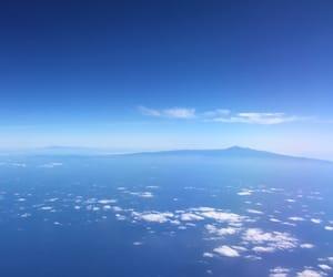 blue, grancanaria, and clouds image