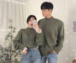 aesthetic, couple, and fashion image