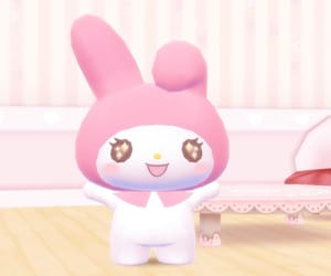 sanrio, my melody, and mymelody image