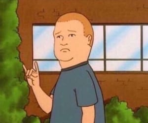 King of the Hill and reaction image