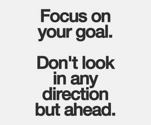 quotes, goals, and focus image