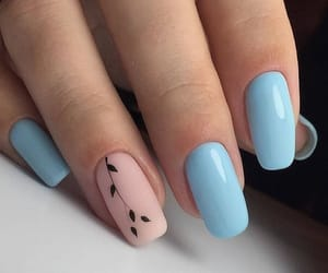 nails, girl, and inspiration image