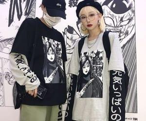 couple, Harajuku, and ulzzang image